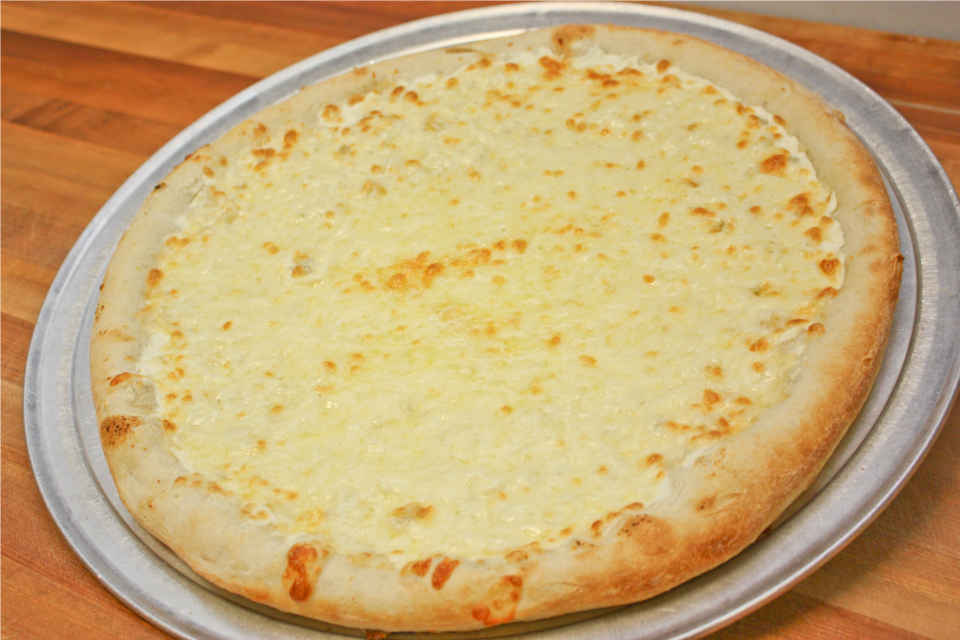 White Pizza (Thin Crust) - Cheese