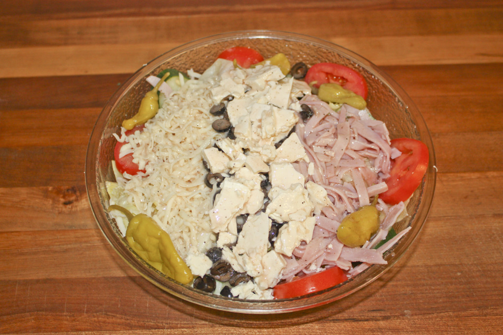 Dad's Greek Salad Recipe — Dishmaps