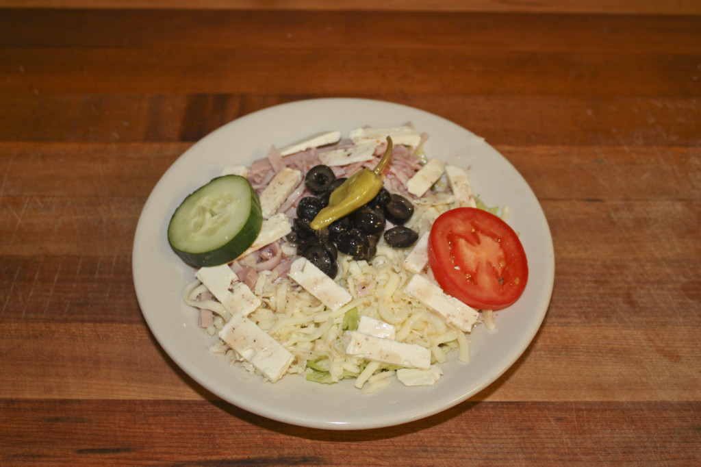 Papou's Salad (My Father's Original Greek Salad) - Small